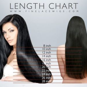 Accessories - 100% Human Hair Ombre Dark Rooted Wavy Wig